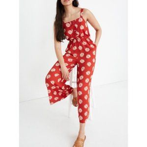 Madewell Daisy Daydream Button Front Jumpsuit
